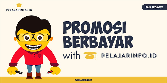 Paid Promote Pelajarinfo