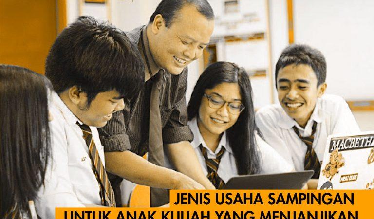 Jenis Usaha Sampingan Untuk Anak Kuliah Yang Menjanjikan