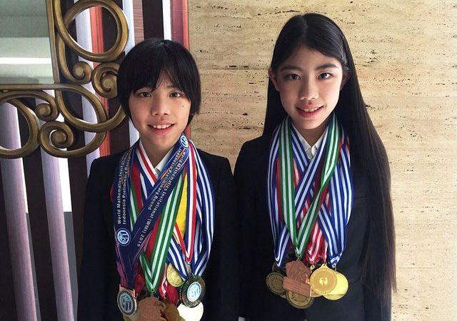 Bangga! Mischka & Devon Peraih Puluhan Medali Olimpiade Matematika Di Masa Pandemi